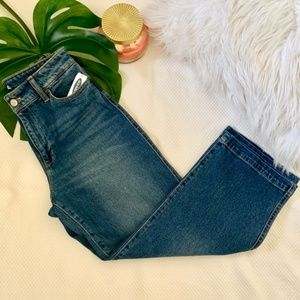 NWT Old Navy High Waisted Cropped Jeans